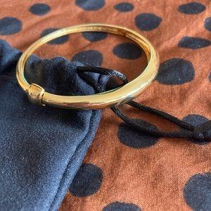 Mejuri Dome bracelet 18K gold vermeil